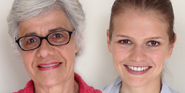 Louise Plouffe and Ina Voelcker